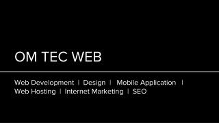 Om Tec Web