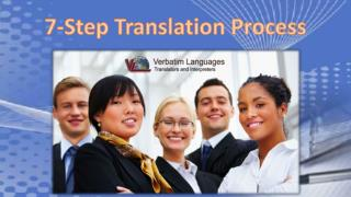 7-Step Translation Process
