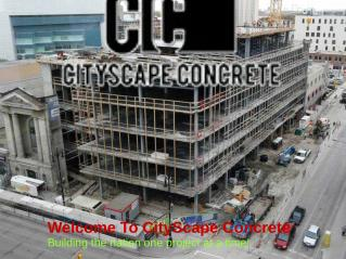 Concrete contractor services tx,