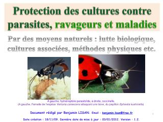 Document r dig  par Benjamin LISAN. Email : benjamin.lisanfree.fr    Date cr ation : 18