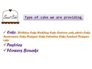 Flowers Bouake and Birthday Cake in Affordable Price