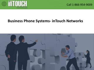 Business Phone Systems- inTouch Networks