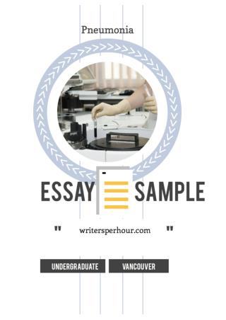 Vancouver style essay format