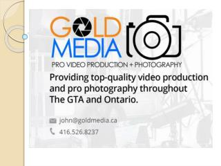 Gold MEDIA Professional Real Estate Photography