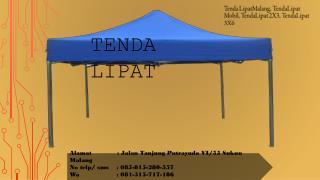 tenda lipat malang, tenda lipat 2×3, tenda lipat praktis, 085-815-280-557