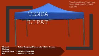 tenda lipat bekas, tenda lipat, 3x6, tenda lipat mobil, 085-815-280-557