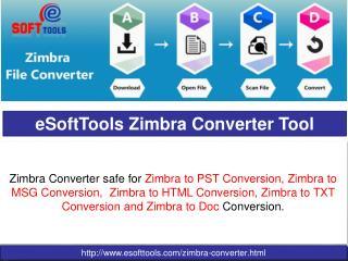 Zimbra Converter Tool