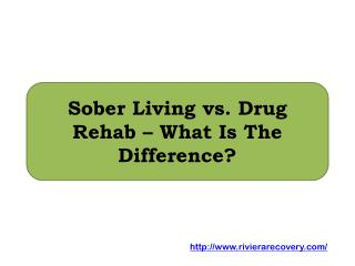 Sober Living vs. Drug Rehab – What Is The Difference?