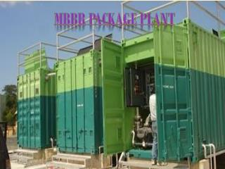 MBBR Package Plant