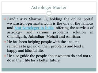 Best and Famous Astrologer in India