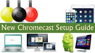 Beginners Guide : New Google ChromeCast Setup