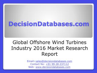 Global Offshore Wind Turbines Market 2016