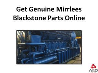 Get Genuine Mirrlees Blackstone Parts Online