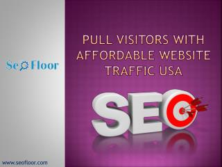 Pull Visitors with Affordable Website Traffic USA