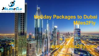 Holiday Packages to Dubai