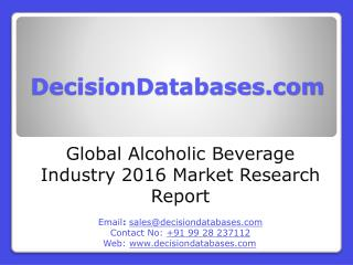 Global Alcoholic Beverage Market 2016-2021
