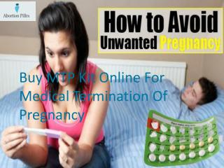 Buy MTP Kit Online For Medical Termination Of Pregnancy