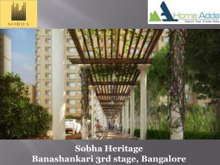 Sobha Heritage Pre Launch by Sobha Limited