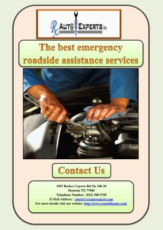 The best emergency roadside assistance services