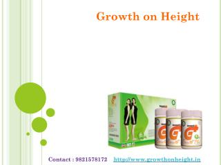 Height Growth Powder with growth on height
