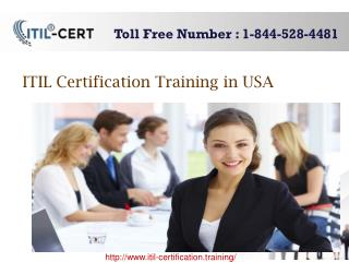 ITIL Service Capability Expert 1 844 528 4481 Contact for Training