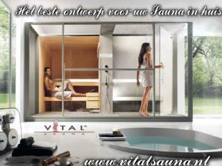Het beste ontwerp voor uw Sauna in huis
