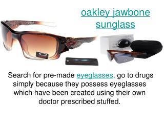 oakley jawbone sunglass