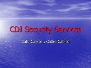 Cat6 Cables, Cat5e Cables