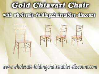 Gold Chiavari Chair with wholesale-foldingchairstables-discount