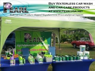 The high Performance Eco Car Care Products- Pearl Waterless