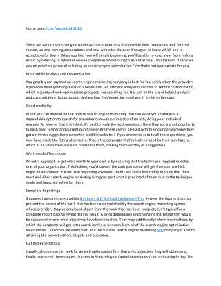 Nimbus – SEO Artificial Intelligence Tool Review