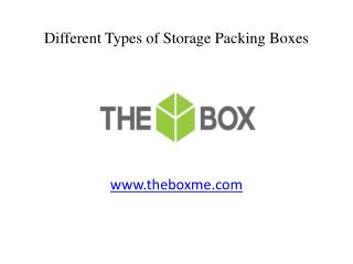 Types of Corrugated Storage Carton Boxes in Dubai, UAE