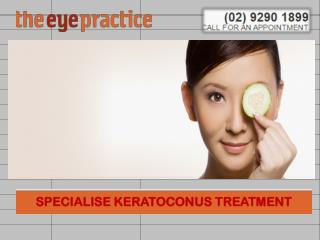 SPECIALISE KERATOCONUS TREATMENT