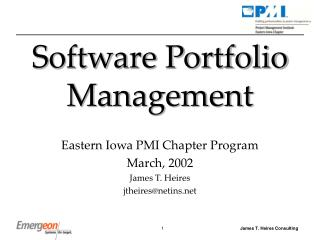Software Portfolio Management