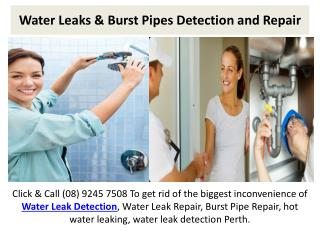 Burst Pipes Repair and Detection