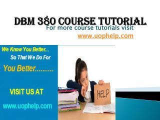 DBM 380 Squared Instruction Uophelp