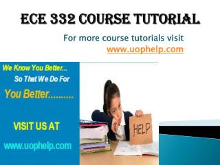 ECE 332 Squared Instruction Uophelp