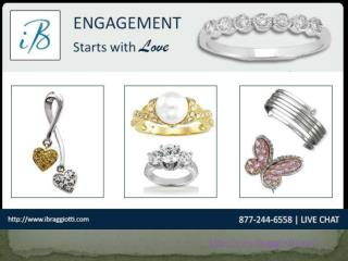 Round Diamond Pave Rings
