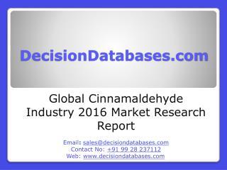 Global Cinnamaldehyde Market 2016