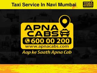 Taxi Service In Navi Mumbai