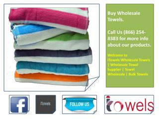 Wholesale Towels For Spa - Hotel & Spa Towels