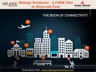 Melange Residences : 2,3 BHK Flats in Hinjewadi Pune