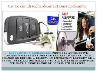 Locksmith in Richardson