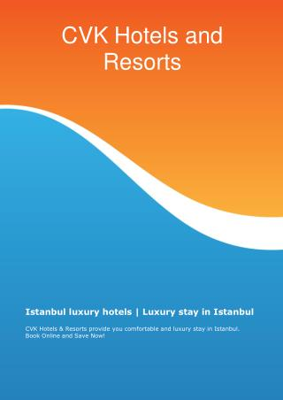 Hotel Services in Istanbul