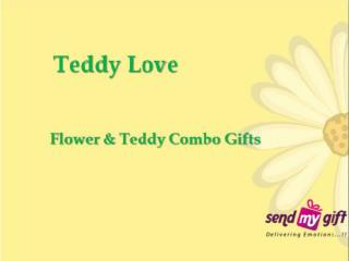 Teddy Love - Flower Combos & Bunches Online