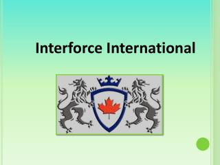 Corporate Investigation Services   Interforce International