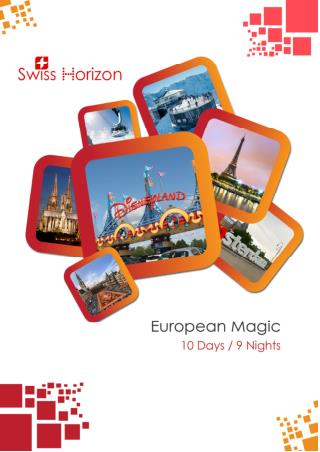 European Holiday Tour 'European Magic'