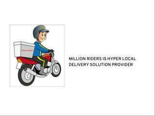 Biker Delivery Job