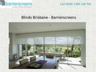 Blinds Brisbane – Barrierscreens