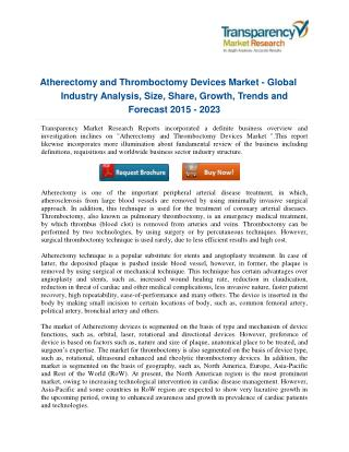 Player Trends and Innovations that Drive the Atherectomy and Thromboctomy Devices Market in Healthcare Market